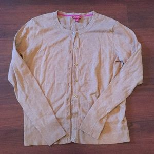Merona Large Tan Cardigan